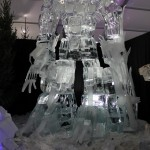 This Giant Optimus Prime Ice Sculpture is Mind Blowing!