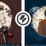Two Amazing Doctor Who Shirts Just $11 Today Only!