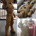Guy Builds Full Size Iron Man Armor Out of Cardboard