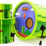 A Spectacular Super Mario Bros Drum Kit