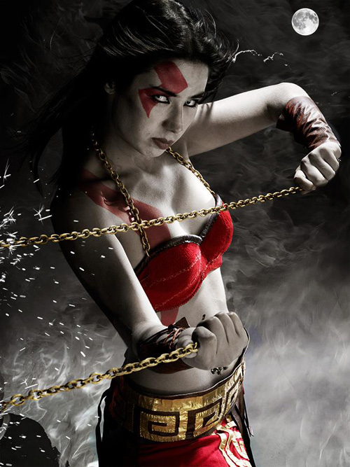 Female Kratos Cosplay