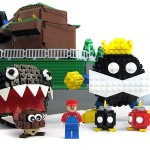 Super Mario 64 Bob-omb Battlefield Recreated with LEGO