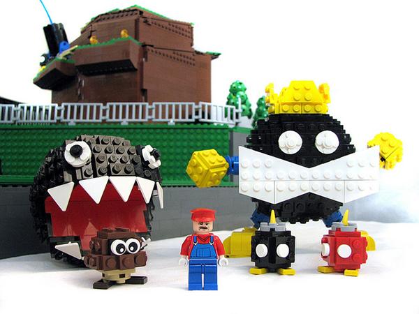 LEGO Super Mario 64 Bob-omb Battlefield