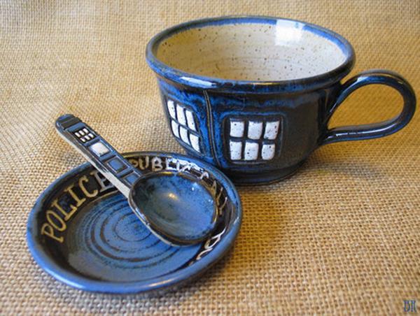 Doctor Who TARDIS Teacup