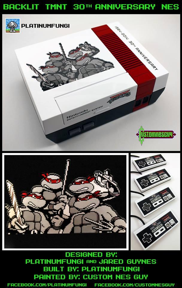 Teenage Mutant Ninja Turtles 30th Anniversary Nintendo NES