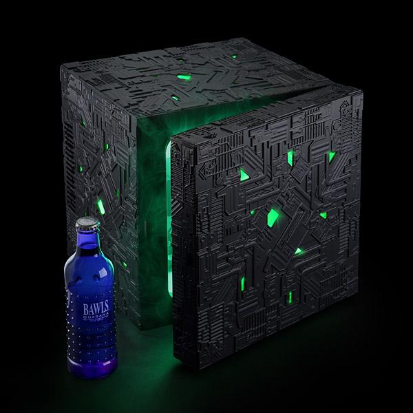 Star Trek Borg Cube Mini Fridge