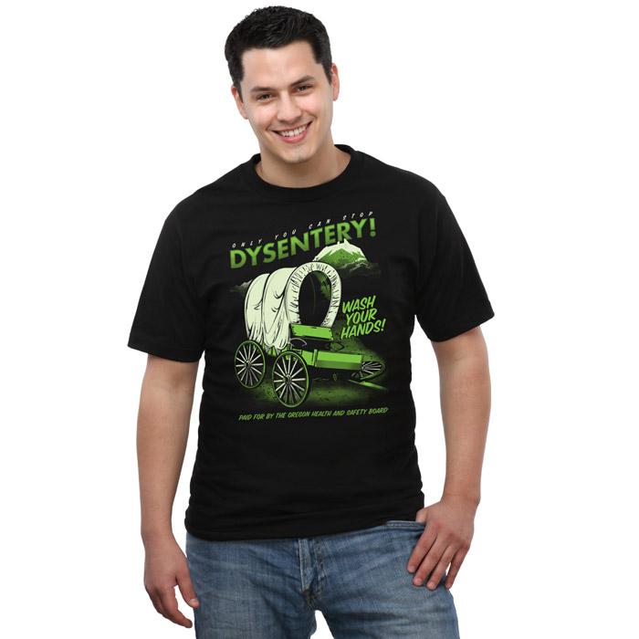 Oregon Trail Dysentery Awareness T-Shirt
