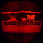 Halloween Done Right With Oregon Trail Pumpkin Carving