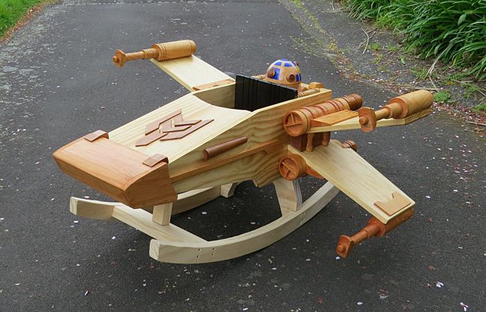 Star Wars X-Wing Baby Rocker