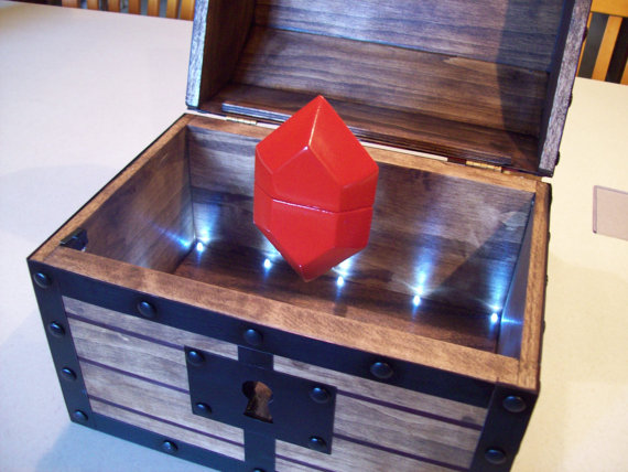 Legend of Zelda Engagement Ring Box