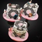 This Perfect Portal Wedding Cake is Not a Lie!