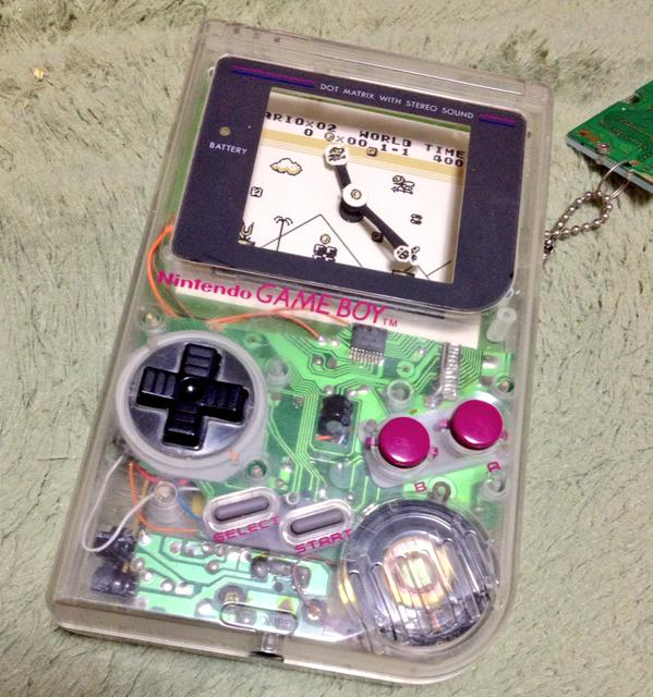 Game Boy Clock Mod