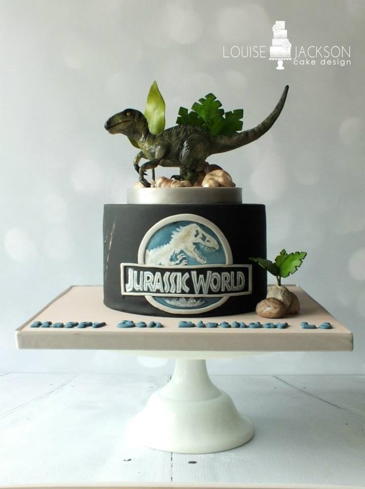 Jurassic World Cake