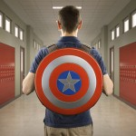 Captain America's Shield Makes For a Great Backpack!