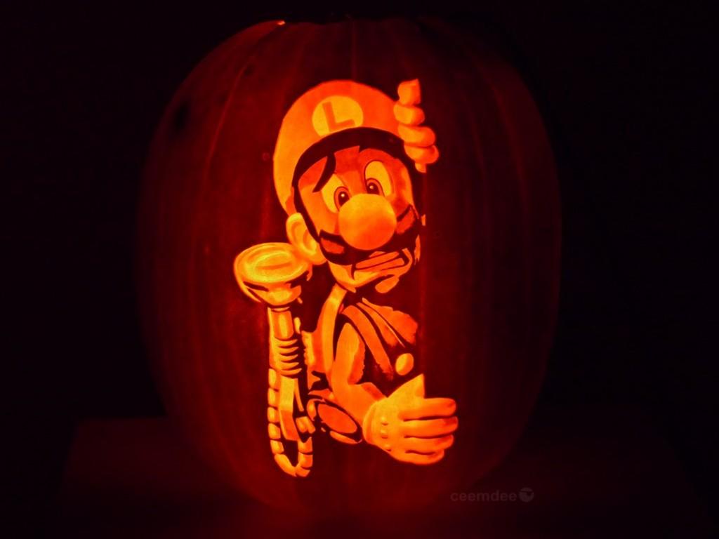 Luigis Mansion Jack-O-Lantern