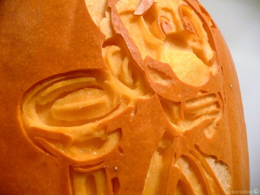 Luigi's Mansion Pumpkin Carving