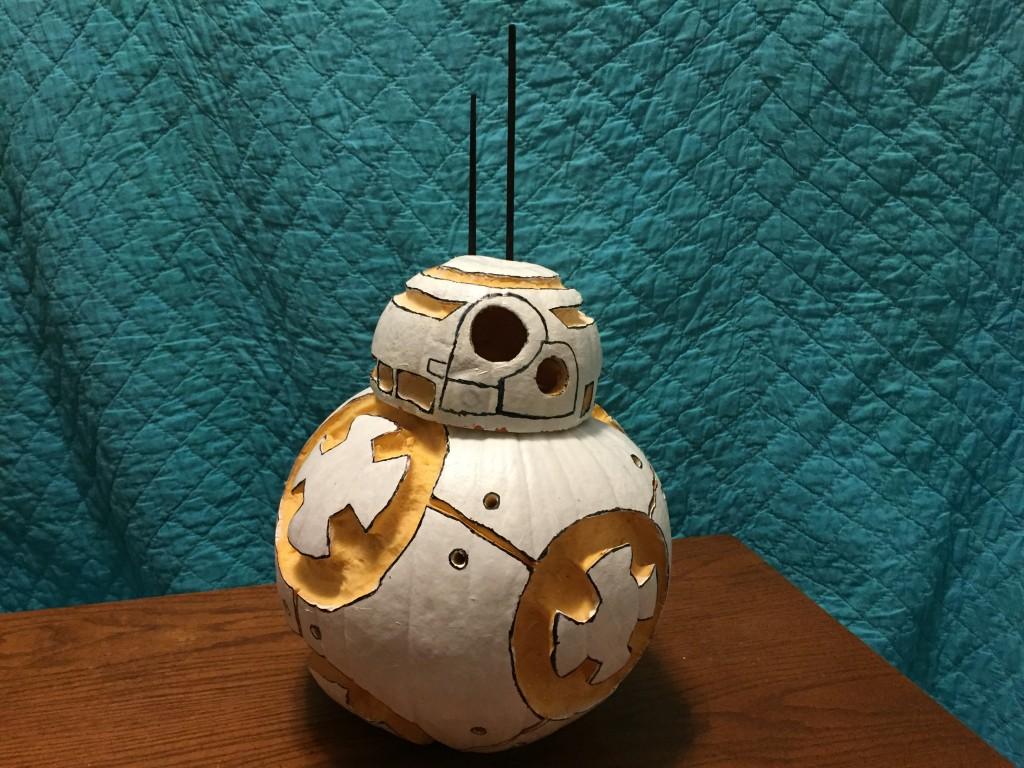 Star Wars BB8 Pumpkin Carving