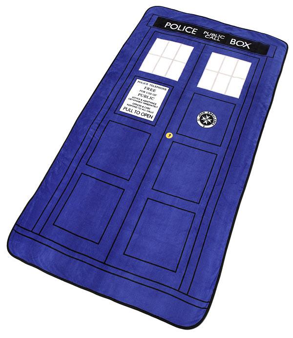 TARDIS Throw Blanket