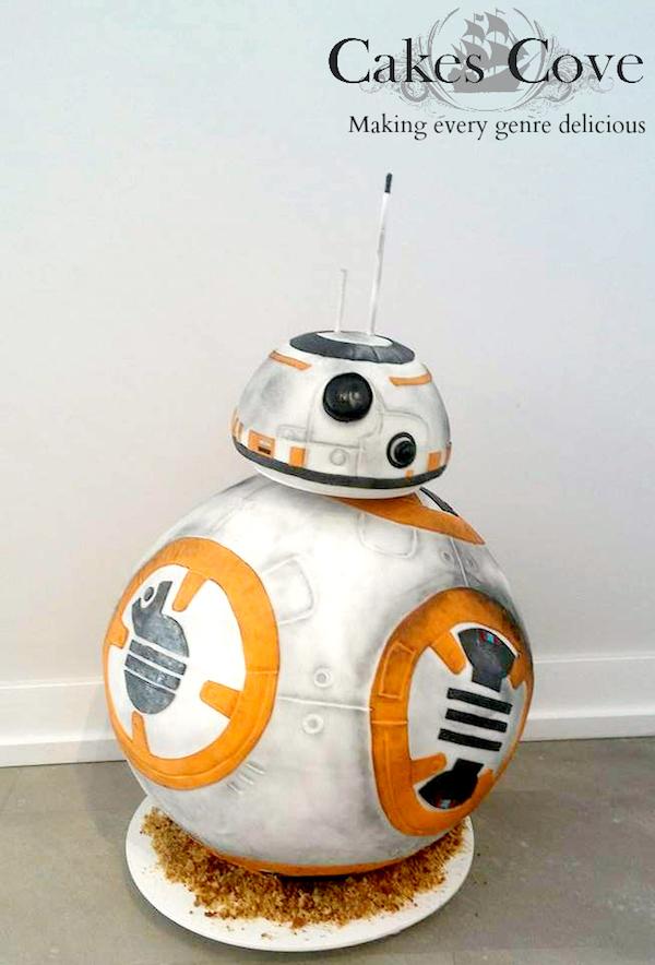 BB-8 Droid Cake