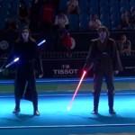 Incredible Star Wars Lightsaber Duel At Fencing World Championship