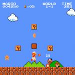 The Super Mario Bros theme music has lyrics.  Yes, really!