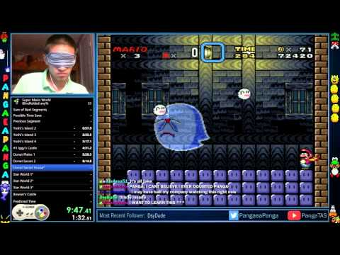 Super Mario World Blindfolded Speedrun