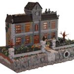 18,000-Piece LEGO Arkham Asylum