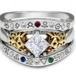Gate of Time Inspired Legend of Zelda Wedding Ring