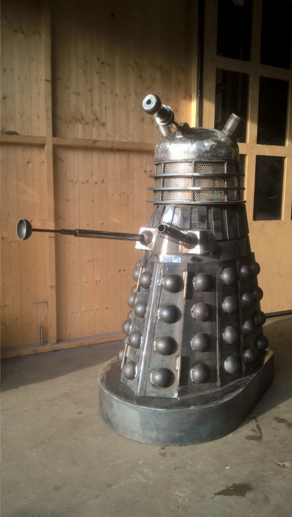 Dalek Wood Stove