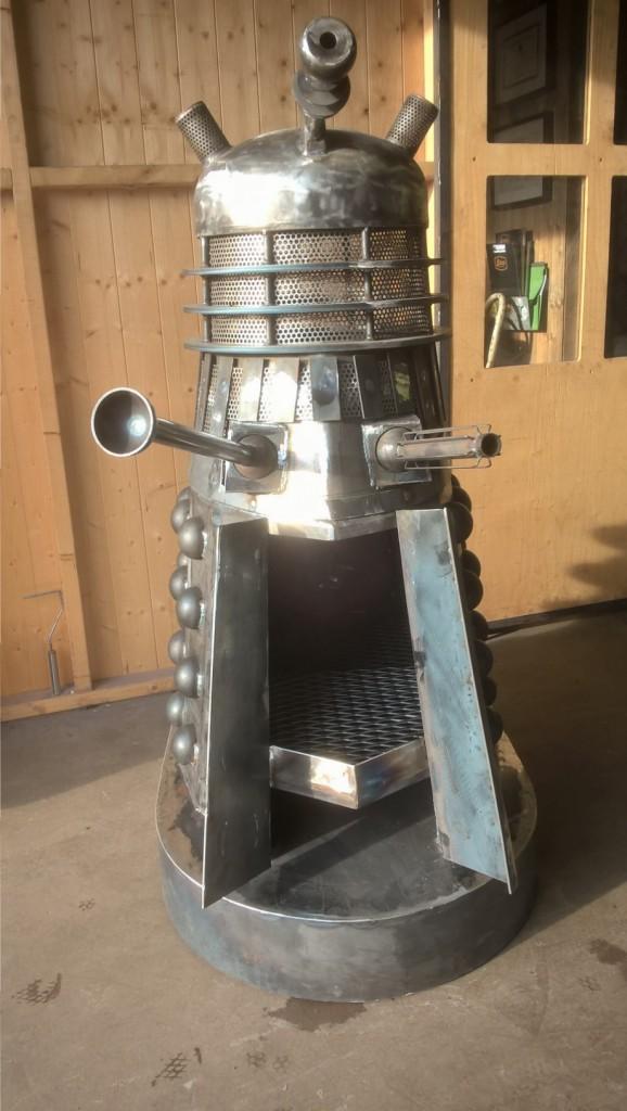 Dalek Wood Burner