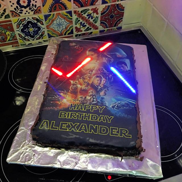 Star Wars: The Force Awakens Cake