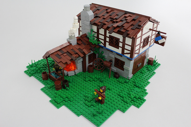 LEGO Age of Empires II Blacksmith