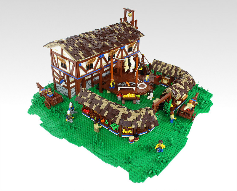 LEGO Age of Empires II Market