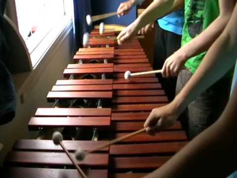 Gerudo Valley theme played on the Marimbaphone