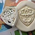 Hylian Shield Cookie Cutter Makes Great Zelda Cookies