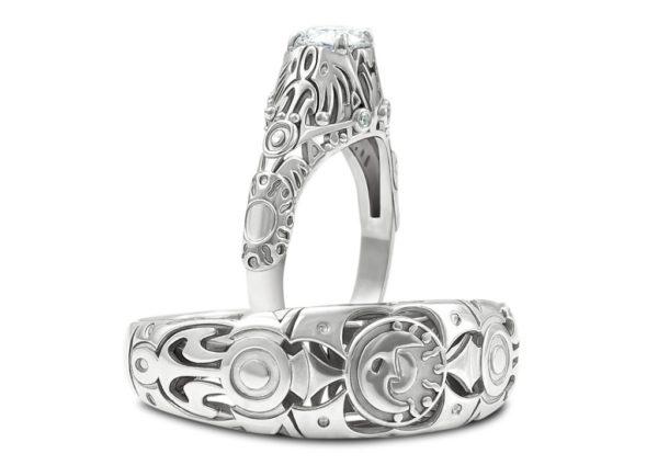 Majora's Mask Wedding Rings