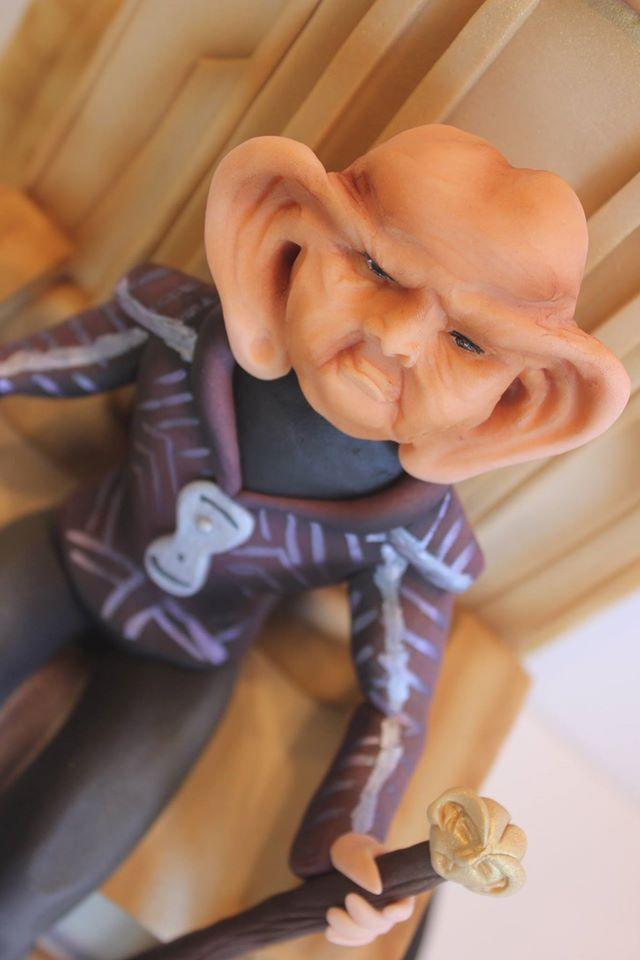 Star Trek Grand Nagus Zek Cake 3