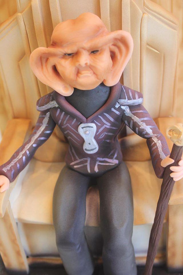 Star Trek Grand Nagus Zek Cake 4
