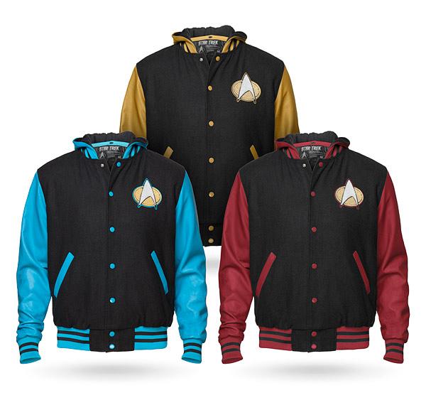 Star Trek TNG Varsity Hoodies