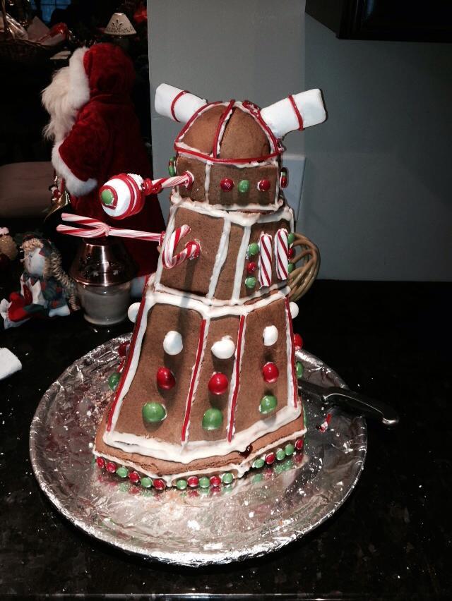 Doctor Who Gingerbread Dalek