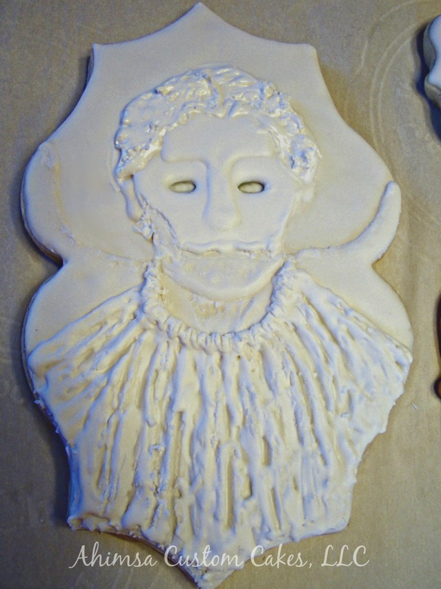 Doctor Who Heavenly Host Cookie undecorated