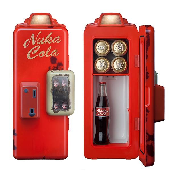 Fallout Nuka Cola machine mini fridge