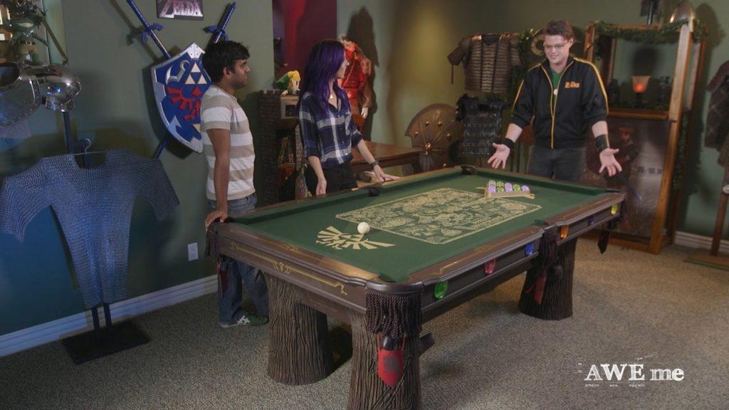 Legend of Zelda Pool Table