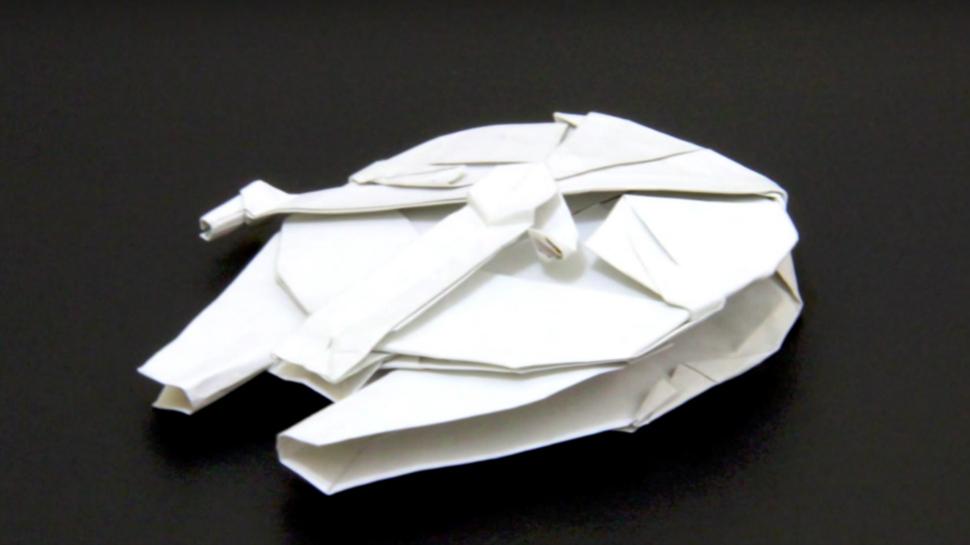 Star Wars Origami Tutorial