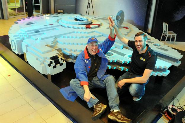 World's Largest LEGO Millennium Falcon