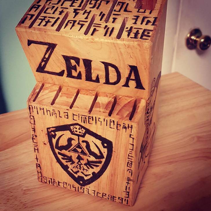 Legend of Zelda Knife Block