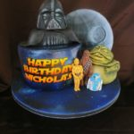 Adorable Star Wars Birthday Cake