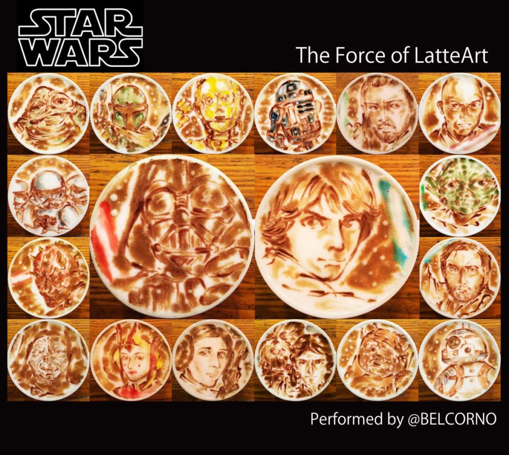 Star Wars Latte Art