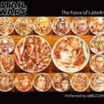 Amazing Star Wars Latte Art To Celebrate Star Wars Day