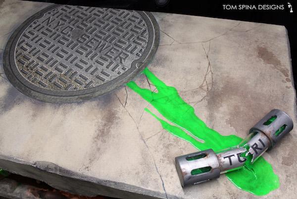 TMNT Custom Sewer Desk